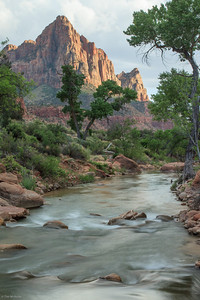 Zion: Sunset on The Watchman