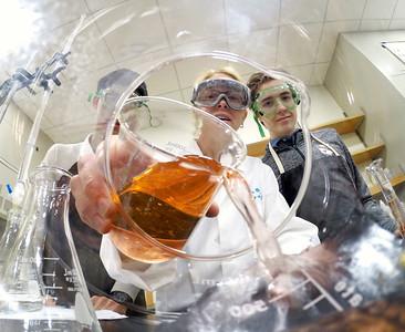 Dana Bertuglia Honors Chemistry Classroom
