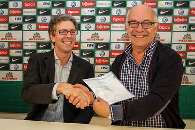 Werder Bremen foundation supports Outreach programme