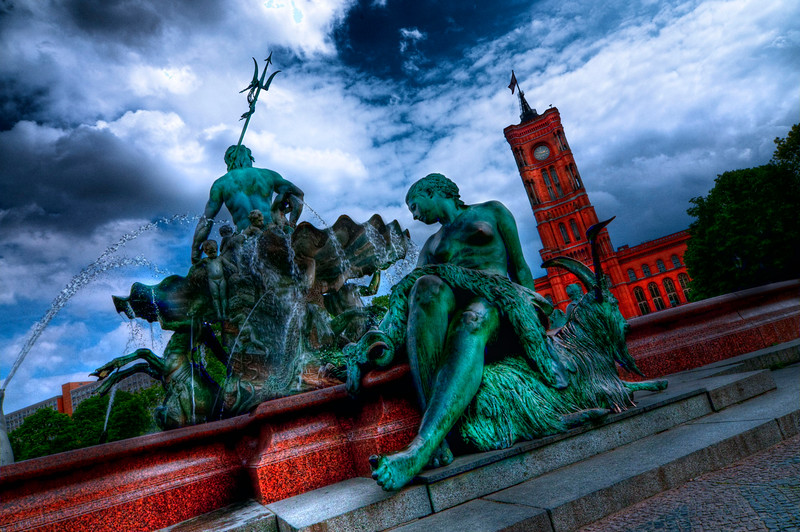 Rotes Rathaus; Berlin; Germany