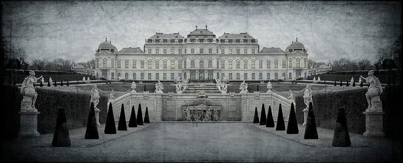 Schloss Belvedere; Wien; Austria