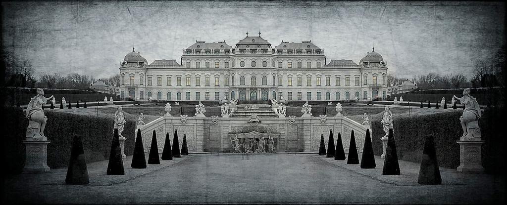 Schloss Belvedere; Vienna; Austria
