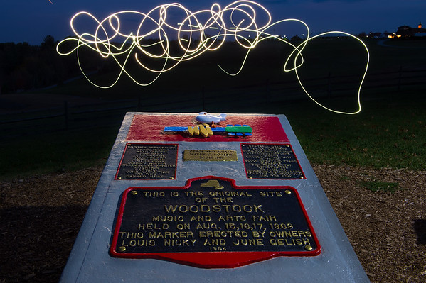 Woodstock Lightpainting