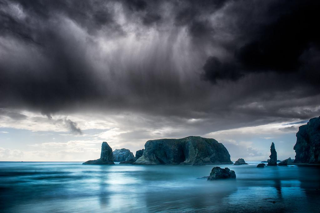 Bandon Beach; Oregon; USA
