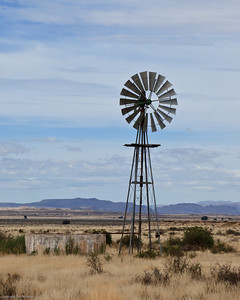 Karoo Windmill N1 Three Sisters