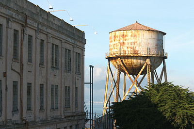 Alcatraz water reservoir HDR