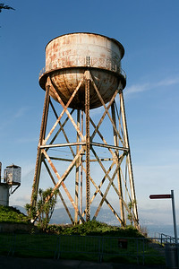 Alcatraz water reservoir