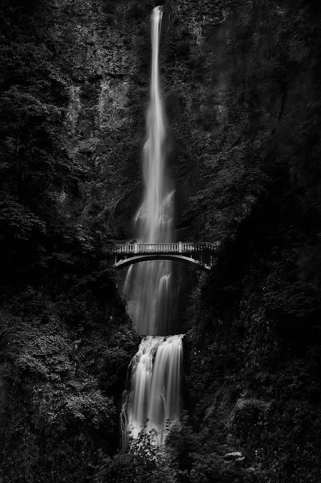 Multnomah Falls; Columbia River Gorge; Oregon; USA