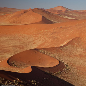 Sossuslvlei: Dunes from the top