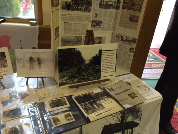 Former Landowners Display at Camp Lejenue