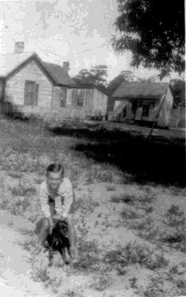 John Hurst - Age 8-9<br /> <br /> Source: JOHN HURST FAMILY ALBUM