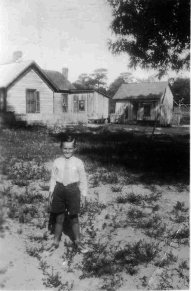 John Hurst - Age 8-9<br /> <br /> Source: JOHN HURST FAMILY ALBUM