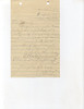 """C429 A letter from the """"Mother of Truesdale Church"""" asking for their church building. She'd like a permit sent so there will be no trouble getting it out. It is one mile from Piney Green."""