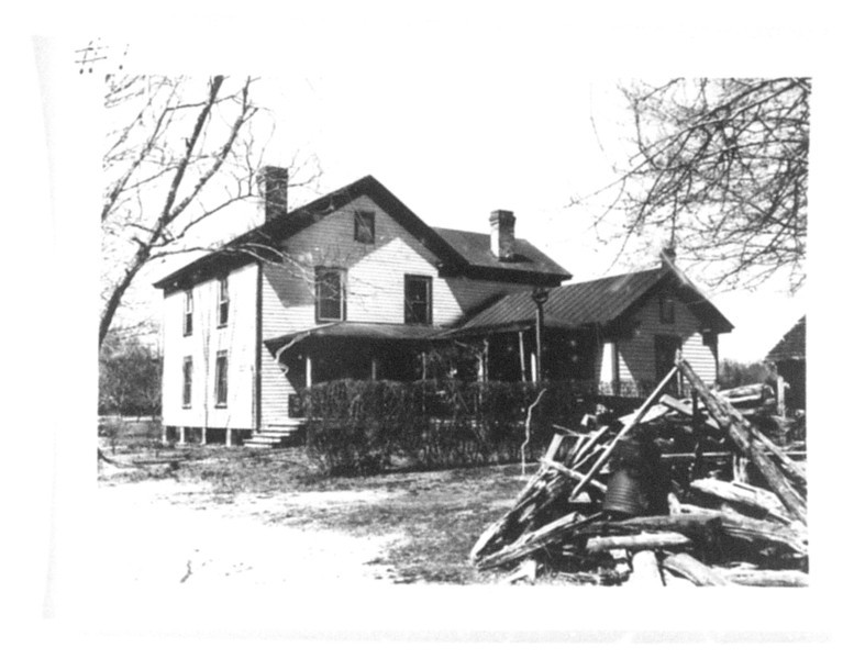 B-200 J.V. Gurganus - This dwelling was valued at $3,000.00. The farm had 11 buildings and 170.4 acres of cultivated fields, good timber  and other special values added to give a total compensation of $13,000.00. Located on old Wilmington Road / U.S. 17 south, at Brinson Creek (today is Camp Geiger area).