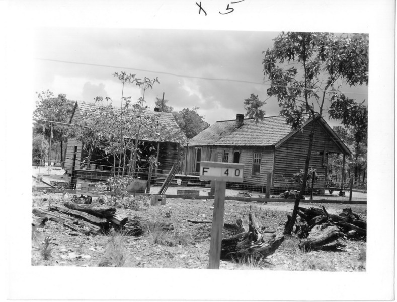 F-40 Annie Lee Avery & Lemuel Aman -  House valued at $500.00. The entire farm of 16 buildings and 206 acres was valued at $6,000.00. This included $750.00 for Pine saw timber and pulpwood timber. The farm was located at the intersection of Sneads Ferry Road and Bear Head Creek.