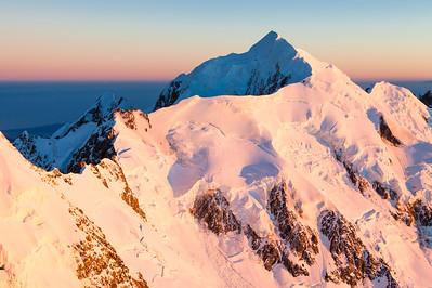 Mt Tasman, Silberhorn & Teichelmann