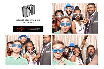 Highrise Consulting Staff Event Photo Booth
