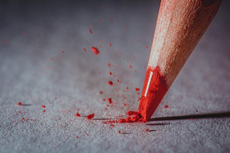 Pencil lead crash