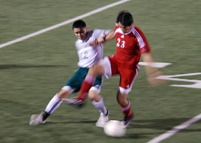 Boys High School Soccer: Hightower vs North Shore 03.27.09