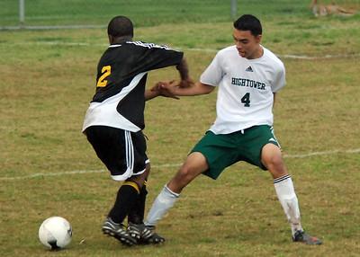 Boys High School Soccer: Hightower vs Marshall 02.13.09