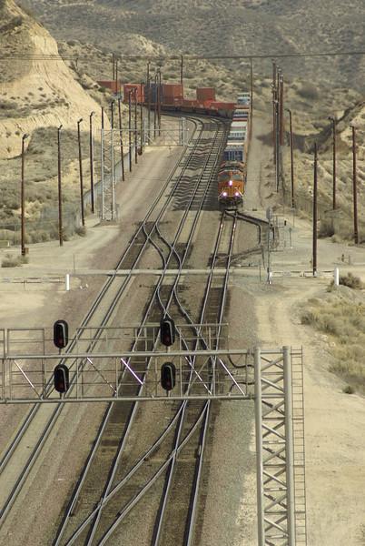Freight Train, Cajon Pass