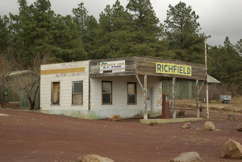 Gas Station, Bellemont, Arizona