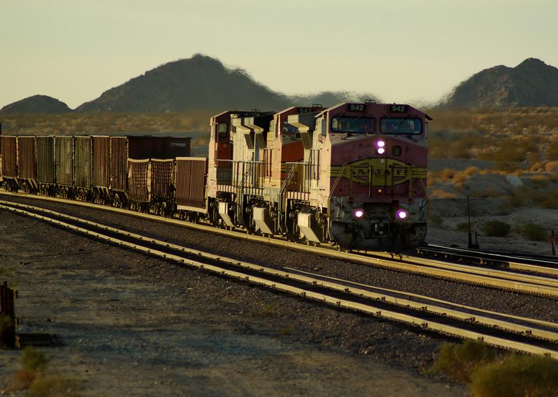 Evening Train, Bagdad
