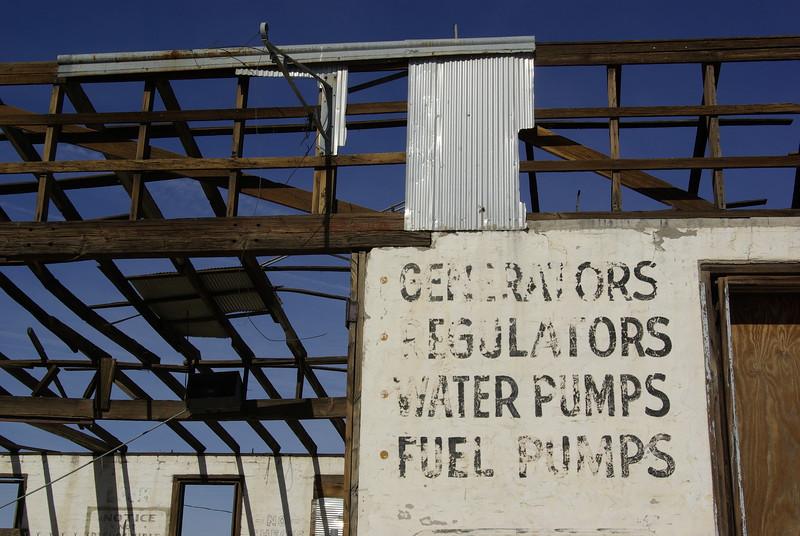 Garage Sign, Ludlow