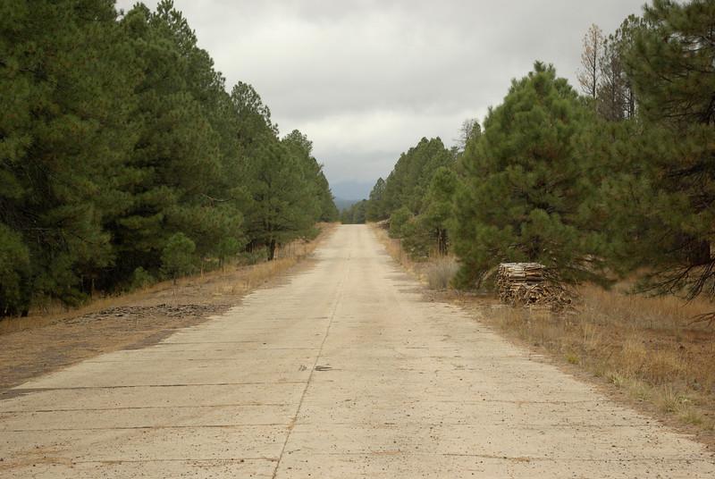 Abandonded Highway 66, near Bellemont, Arizona