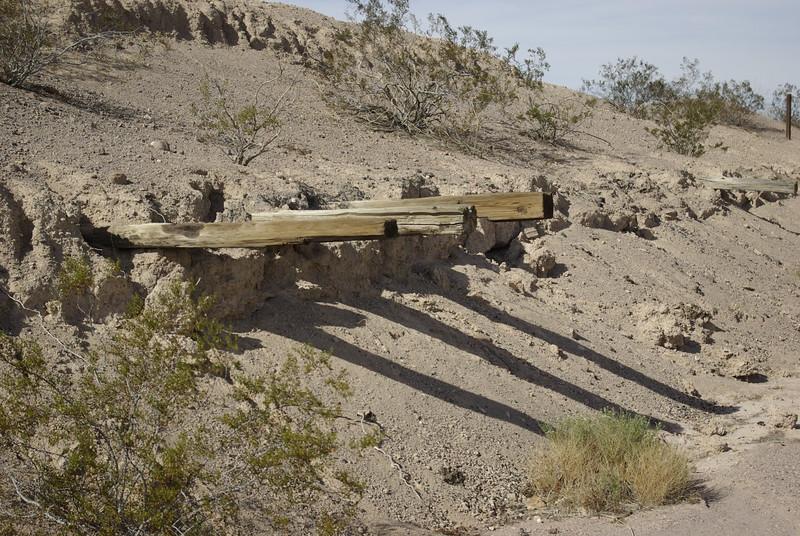 Buried Railroad Siding, Klondike