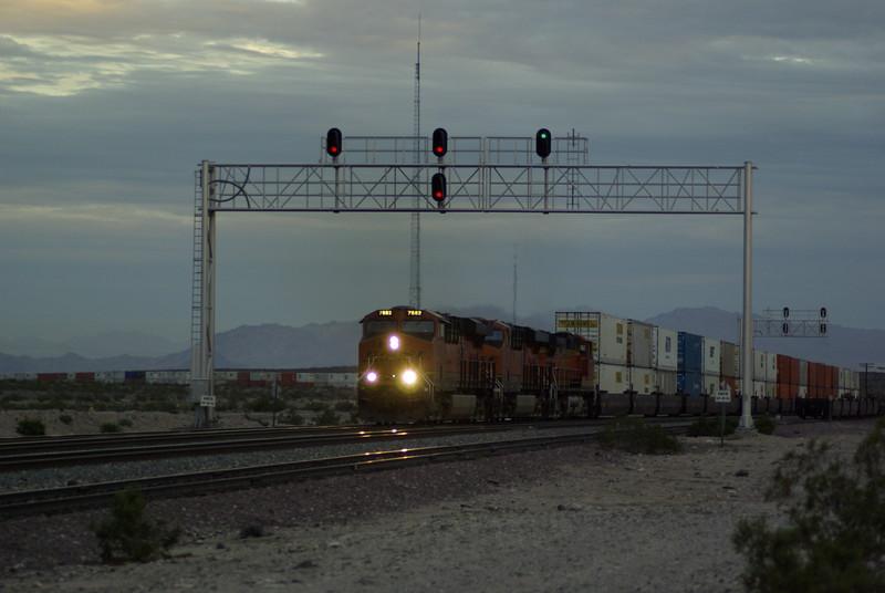 Evening Train at Ash Hill