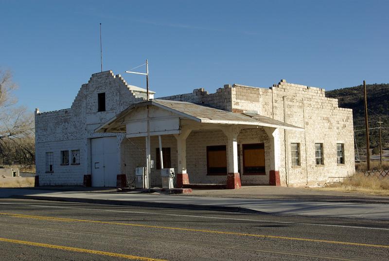 Service Station, Peach Springs, Arizona