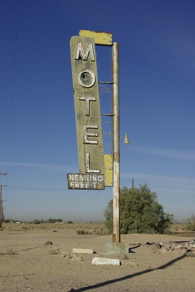 Motel Sign, Newberry Springs