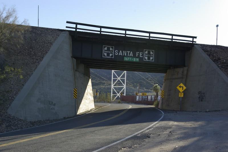 Highway 66 Railroad Underpass, Topock