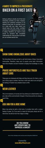 4 Ways To Impress A Passionate Biker On A First Date