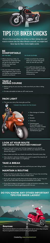 Tips for Biker Chicks