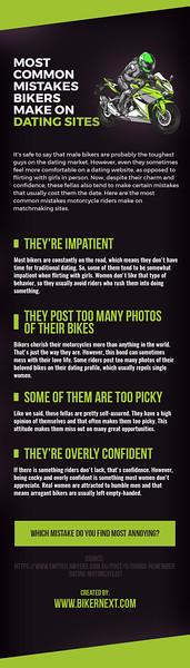 Most Common Mistakes Bikers Make On Dating Sites