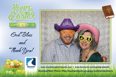 Photo Strips from Highway Church Easter Service 2017