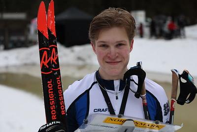 Niklas Ekström - nuorten MM 1.
