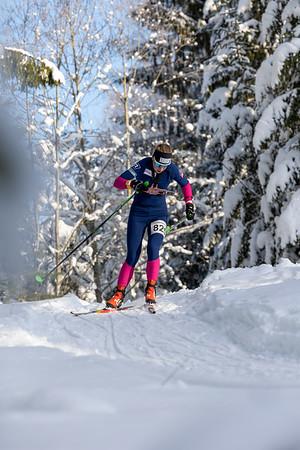 Salla Koskela - SM-sprintti 1.