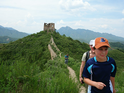 hike the Gubeikou Great wall  in Beijing