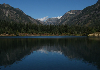 Gold Creek Pond - September 26, 2009