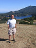 Bon Tempe Lake and Mt. Tam from Azalea Hill.  September 2005.