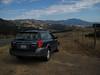 Geysers Road, overlooking Mt. Saint Helena, Sonoma County.