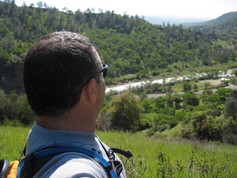 Valley Vista Trail above Cache Creek