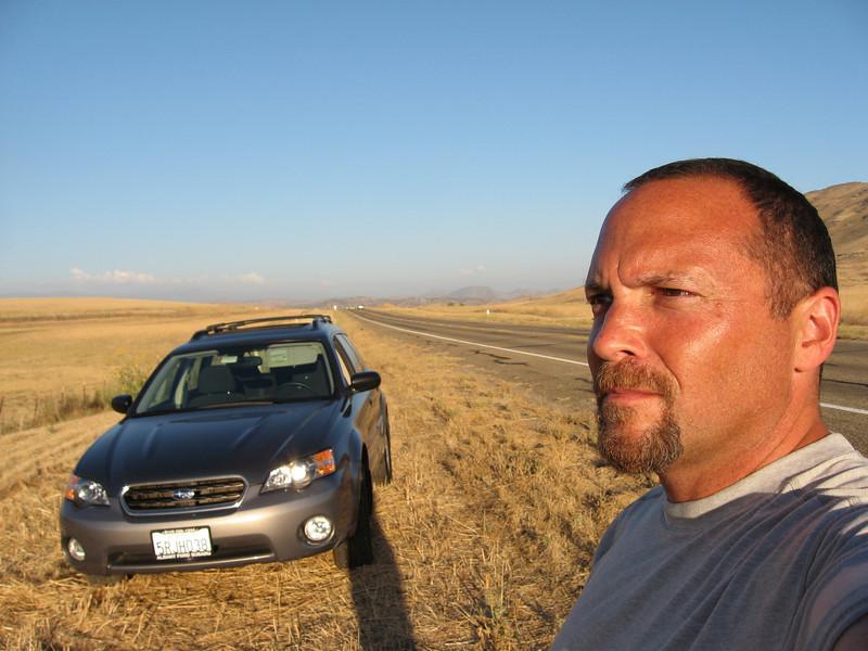 Highway 180, east of Minkler, Fresno County.