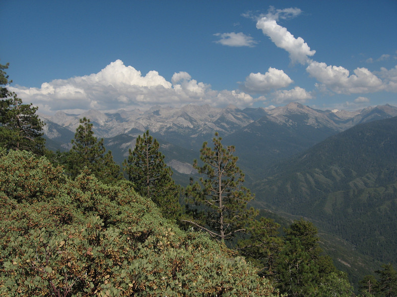 Great Western Divide from Eagle View