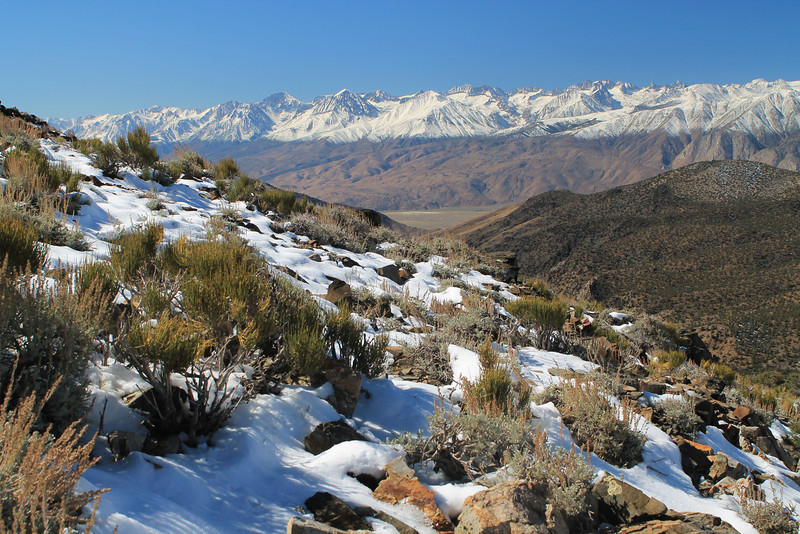 Eastern Sierra from White Mountains