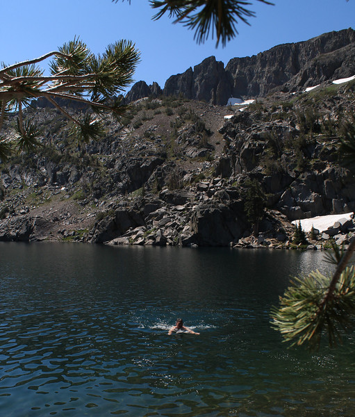 Todd in Winnemucca Lake