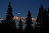 Saturday evening moon